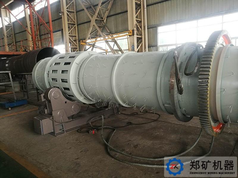 泰国φ1.06×8.58 烘干机项目案例