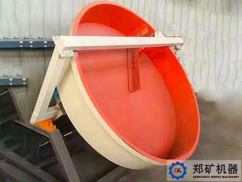 免烧陶粒生产的核心工艺之造粒成球工艺,PQ盘式成球机的特殊作用。